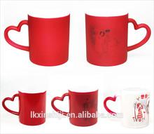 Fashion customized promotional color changing mug
