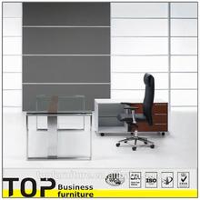 2014 High End Glass Top Office Desk