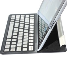 Stand Leather Case Cover Removable Bluetooth Keyboard for iPad Mini