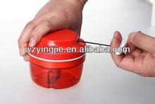 manual mini food chopper 300ml by hand with LFGB certification