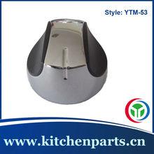 8mm shaft gas stove knob zinc alloy