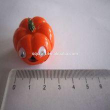 Miniature fake food pumpkin pendant,fake food,kawaii fake food