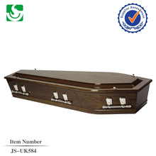 JS-UK584 professional flat packed coffin