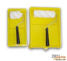 Wool Decorating Paint Roller Set With Plastic Handle