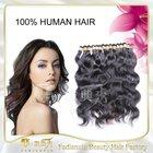 Natural Color or Blonde Brazilian Virgin Hair U Part Wig