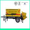 2014 new pump HBT electric diesel concrete pump rubber hose