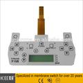 A medida de alta calidad de entrega cortos fpc interruptor de membrana/teclado de membrana/teclado