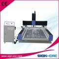 de alta calidad bajo precio económico de piedra router cnc centro de mecanizado 1318 signo