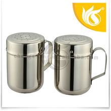 Hotel Design China Supplier Stainless Steel S.P Cruet With Handle