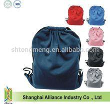 Athletic Polyester Fleece Drawstring Bag/Backpack
