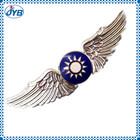 Wing design lapel pins metal pin badges