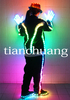 LED Jacket/ Light Up LED Suit/ LED Stage Clothes For Dancing