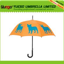curve handle promotional pet dog umbrella