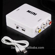 Input Digital HDMI To RCA Analog AV Converter
