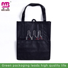 silk screen printing cotton tote 6 bottles wine carrier bag