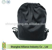 Fashion custom Athletic Polyester Fleece Drawstring Bag/Backpack