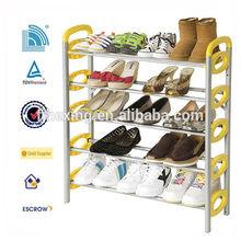 2014 new simple designs shoe rack plastic furniture factory shoe rack for kids