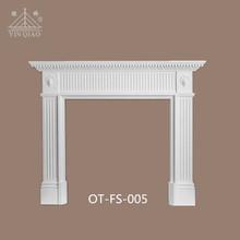 Easy install decorative fireplace gypsum fire surrounds OT-FS-005