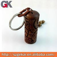 wood laser engraving key chains