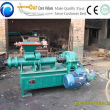 Coal dust brick making machine/coal and charcoal extruder machine