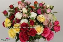 wholesale decorative artificial flower sourcing department rose27661H
