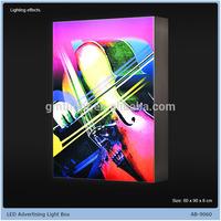LED strap advertising light box