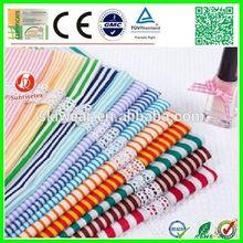 popular stretch spandex red white striped vinyl fabric