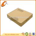 barato venda quente cera de papelão ondulado caixas especificação com tampa