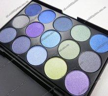 New 15 color eyeshadow palette cool color sense