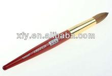 stock!high qualityanimal hair cooper ferrule nail brush