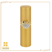 Ring accessory customized color metal perfume refillable pen bottle