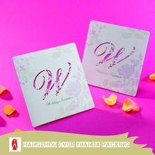 Alto grau de moda cartões de casamento para imprimir frete atacado