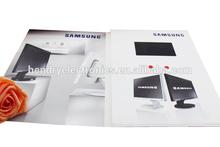 Custom LCD video brochure card for SamSung brand