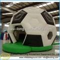 Engraçado inflável de futebol inflável casa pulando/casteloinflável inflável combo para crianças