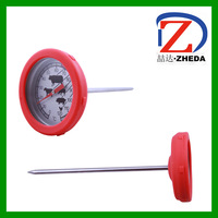 BBQ bimetal cooking molten food thermometer