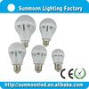 3w 5w 7w 9w 12w e27 b22 ce rohs low price led light bulbs 6000k
