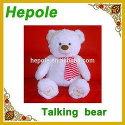 talking toy talking bear talking animal audio mp3 learning toy, educational toy