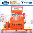 JS500 small concrete indian mini mixer grinder for sale