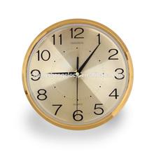 10 inches plastic wall clocks with aluminium dial