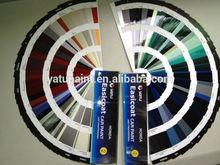 car paint color chart for Toyota Honda Nissan General Motors