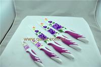 High quality non-stick 5pcs coating knife set