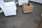 Water, coffee, oil stain no need to worry WPC outdoor deck tile
