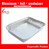 "12 3/10"" X 8 1/2"" Disposable Rectangular Aluminum Foil Food Storage Containers"