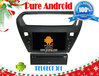 car gps navigation Android 4.4 peugeot 301/Citroen Elysee ,RDS Telephone book,AUX IN,GPS,WIFI