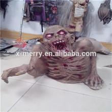 X-MERRY LIFESIZE Skull Halloween Prop- Handcrafted Latex