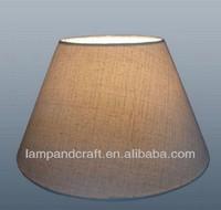 dark grey Linen fabric lampshade Chandelier Shade Mini Clip On Lamp Shades