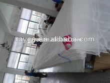 75D,30gsm Diamond Hole Polyester Knit Mosquito Net Fabric / plaza de poliester tejido de malla