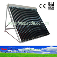 Glass Evacuated Vacuum Tube Flat Panel Solar Collector