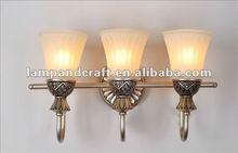 2012 Antique Traditional European Three Heads Wall Lamp