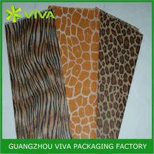 Wild Animal Print wrapping tissue paper for clothes